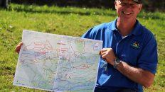 Josef Sagmeister verteilte die Müllsammler auf das gesamte Gemeindegebiet. Foto: Knut Kuckel