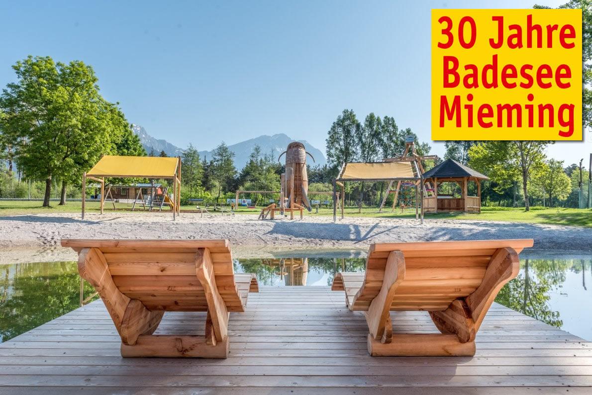 30 Jahre Badesee Mieming - Feldmesse, Festakt, Frühschoppen- und Wunschkonzert, Foto: Elias Kapeller