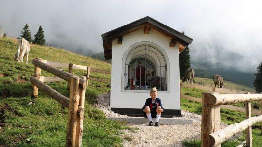 Almmesse und Almfest auf der Hochfeldern Alm. Foto: Knut Kuckel/Tirol.bayern