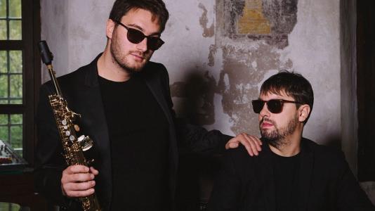 Duo Granato - Cristian Battaglioli (Saxophon) und Marco Rinaudo (Klavier). Foto: Mieming.online