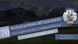 70. Bataillonsschützenfest und 70 Jahre Jungbauernschaft/Landjugend, Foto: Andreas Fischer/Mieming.online