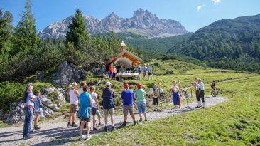 Bergmesse und Almfest auf der Marienbergalm Foto: Andreas Fischer