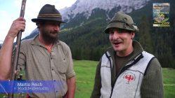 Almabtrieb Obermieming 2018 – Vorabend auf der Hochfeldernalm, Video: Andreas Fischer