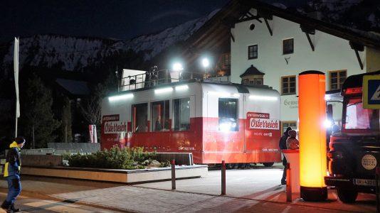 ORF Studio am Gemeindeplatz Mieming Foto: Andreas Fischer