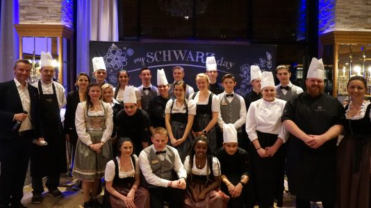 Lehrlingsgala Alpenresort Schwarz 2019