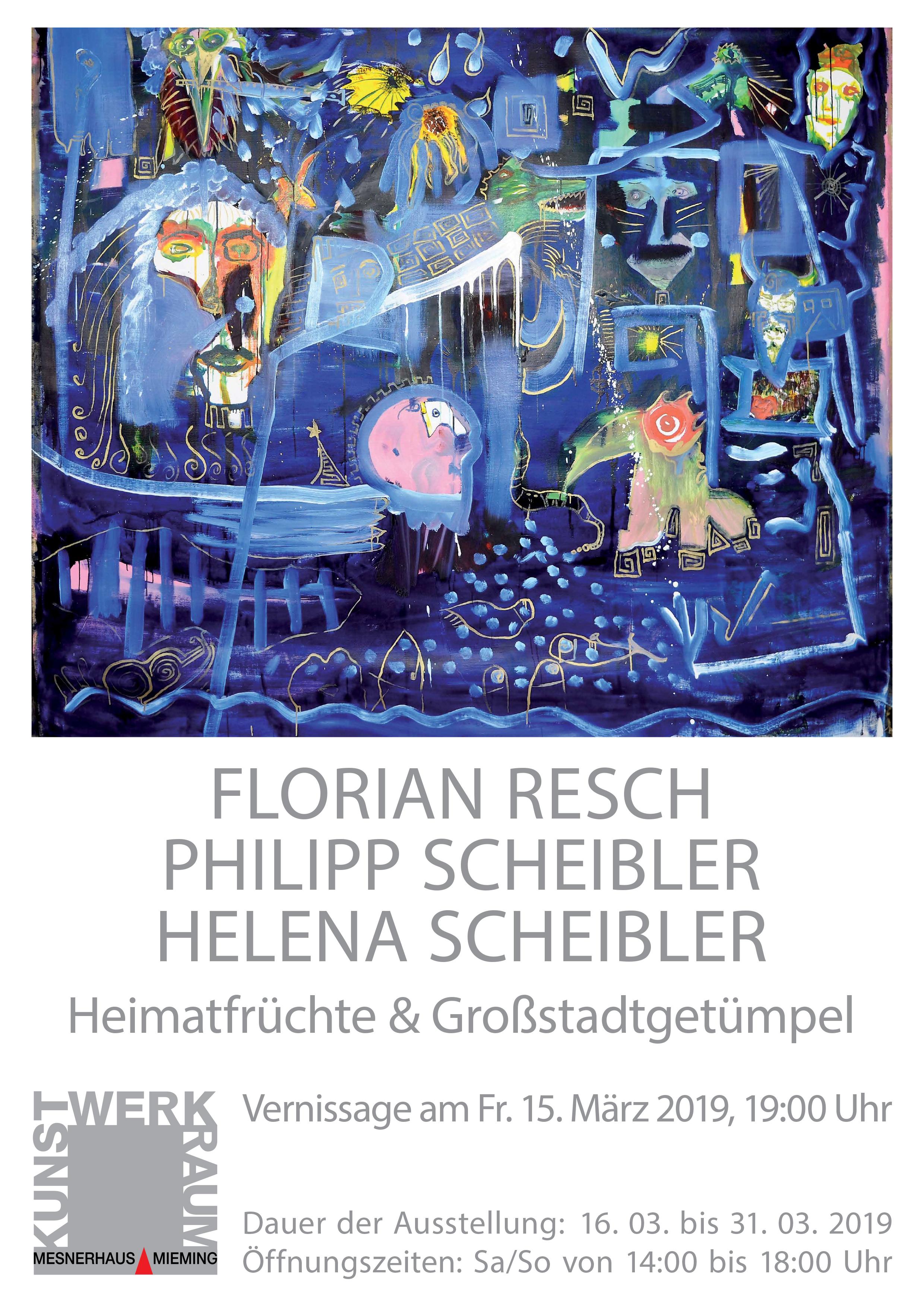 Plakat_Resch-Scheibler_A4 (c) Mesnerhaus Mieming
