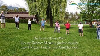 Badesee Mieming - Mitarbeiterinnen und Mitarbeiter 2020 Foto: Andreas Fischer